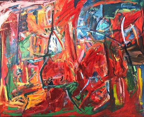 Restoration of Damaged Painting - Sanchez