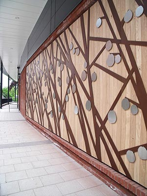 Stella Corrall - External Facade Artwork