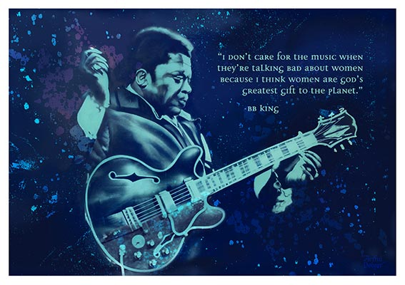 Artful Dodger - BB King - Print