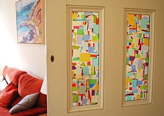 Sue King - Living Room Door Panels
