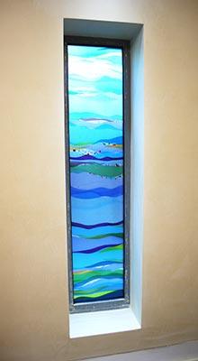 Sue King - St Josephs Hospice Window