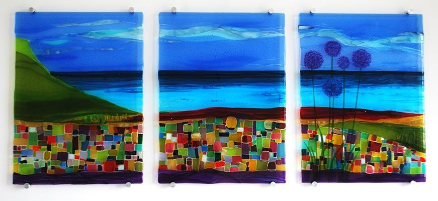 Sue King - Wall Triptych