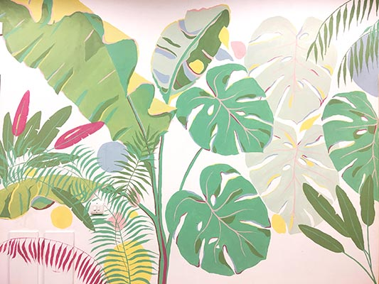 Living Wall Murals - Brunswick School Mural