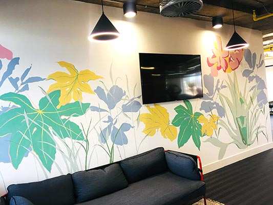 Living Wall Murals - Huddle Mural