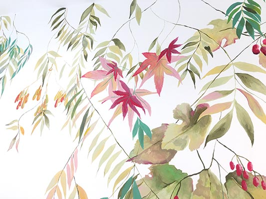 Living Wall Murals - Highgate Mural - Detail