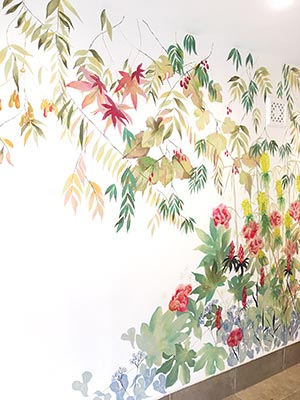 Living Wall Murals - Highgate Mural - Detail 1
