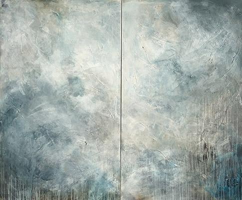 Leisha Yaz - Age of Aquarius - Diptych - 1
